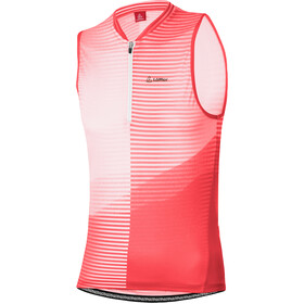 Löffler Aero Half-Zip Bike Tank Top Women, sunrise